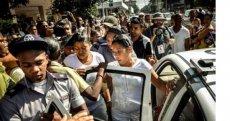 Opositores detenidos durante la Cumbre de la CELAC