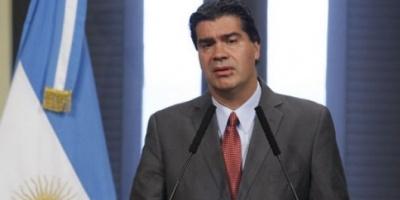 """Capitanich quiere un repudio del Congreso contra la """"imperial declaración"""" de Griesa"""