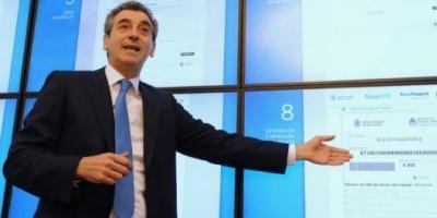 Randazzo anunció más facilidades para sacar el pasaporte vía internet