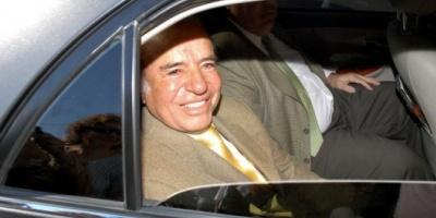 Menem fue citado a declarar como testigo por la muerte de su hijo