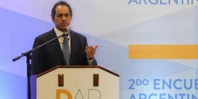 """Daniel Scioli reclamó """"más competitividad para el mercado de autopartes"""""""