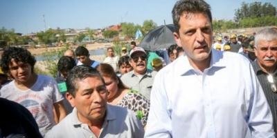 Massa pidió en Salta que las Fuerzas Armadas colaboren en el control de las fronteras