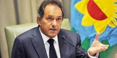 """Scioli: """"Siento que soy el punto de encuentro de todo el peronismo y el oficialismo"""""""