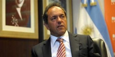 """Scioli confía que el conflicto con los holdouts """"va a tener un buen desenlace"""""""