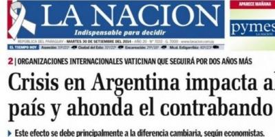 """Preocupa en Paraguay el impacto de la """"crisis Argentina"""""""