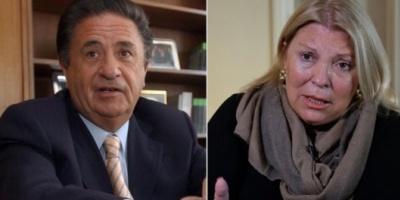 Duhalde dijo que siempre hubo ataques especulativos y a Carrió le preocupa la salud de Cristina Kirchner