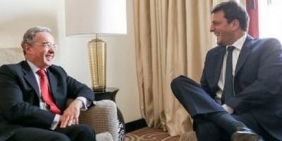 Massa y Uribe se reunieron para hablar de narcotráfico e inseguridad