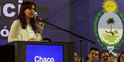 """Cristina convocó a los argentinos a """"dejar las diferencias para las urnas y laburar por el país"""""""