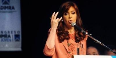 """Cristina: """"Mi temor es que se instale la idea de crisis para que los que vengan hagan políticas de ajuste"""""""