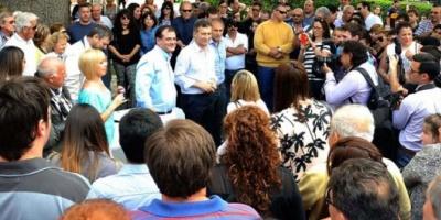 Más gestos hacia una alianza: Macri dijo que apoyaría al candidato de la UCR en Córdoba