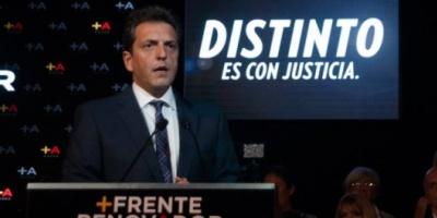 """Massa ya tiene su proyecto de """"mano justa"""": menos excarcelaciones y más medidas contra la corrupción"""