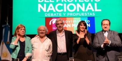 Arslanián, Bielsa y Pérez Esquivel acompañaron a Julián Domínguez en la presentación de su armado