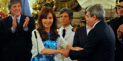Aníbal Fernández  asumió como secretario general de la Presidencia