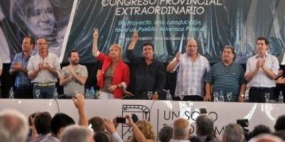 En una muestra de unidad, el congreso del PJ bonaerense respaldó la gestión de Cristina