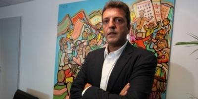 """Sergio Massa: """"El Presidente tiene que estar al frente de la pelea contra la inseguridad"""""""