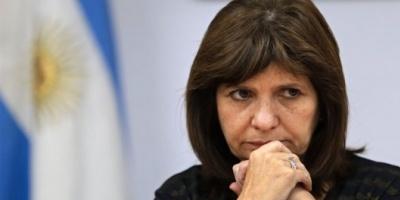 Patricia Bullrich respondió la acusación de Aníbal Fernández