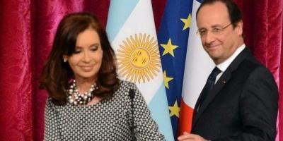 Hollande agradeció a Cristina Kirchner su respaldo tras el atentado a Charlie Hebdo en Francia