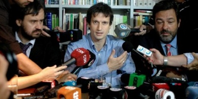 Diego Lagomarsino intentó ir al velatorio del fiscal Nisman