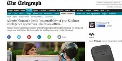 Prensa europea especula sobre el posible asesinato del fiscal Nisman