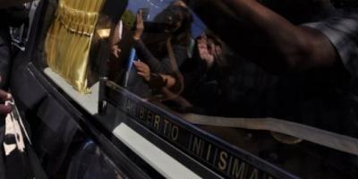 """Arroyo Salgado en el entierro de Nisman: """"Yo sé que este final no fue una decisión tuya"""""""