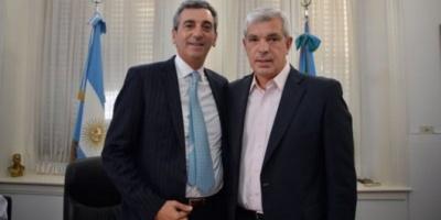 Randazzo y Domínguez se mostraron juntos en Chacabuco