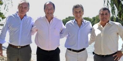 Juntos, Macri y Sanz anunciaron un acuerdo de Pro y la UCR para ir a las PASO en Entre Ríos