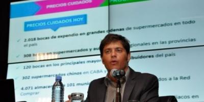 """Kicillof: """"La inflación bajó a un tercio, aún para la oposición"""""""