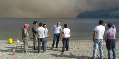 Los incendios en Chubut no cesan y ya alcanzaron algunas viviendas