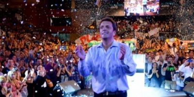 """Massa relanzó su campaña: """"Voy a terminar con los jueces sacapresos de Zaffaroni"""""""