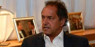 """Scioli: """"De los candidatos de la Ciudad, tengo más proximidad con Recalde"""""""