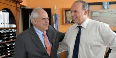 Berni y Samper acordaron profundizar la cooperación entre países de la Unasur en la lucha contra el narcotráfico