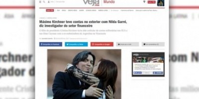 Piden investigar si Máximo Kirchner compartió cuentas en el exterior con Nilda Garré