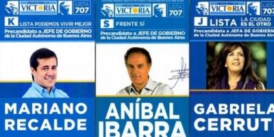 Primarias porteñas: oficializaron las boletas de los precandidatos