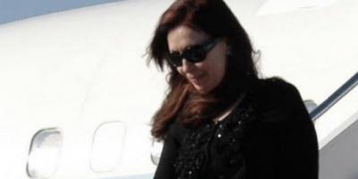 Cristina viajó a Río Gallegos y mañana encabeza el acto central por Malvinas