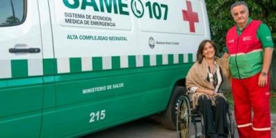 Michetti propuso sumar 25 ambulancias al SAME