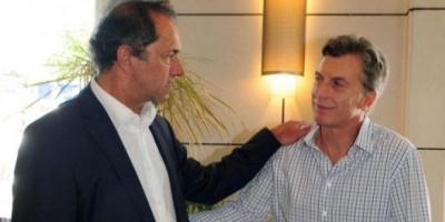 Scioli y Macri polarizan la elección presidencial en Mendoza y Santa Fe