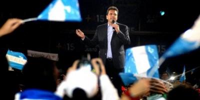 """Massa: """"Voy a anunciar mi vicepresidente el 10 de junio"""""""
