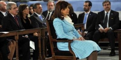 Cristina Kirchner participó de su último Tedeum como Presidente en la Basílica de Luján