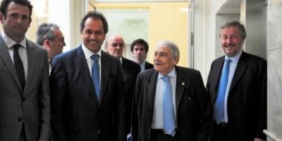 """Scioli: """"Seré el presidente de la producción y la reindustrialización"""""""