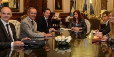 Directivos de Ford anunciaron a Cristina inversiones por 220 millones de dólares