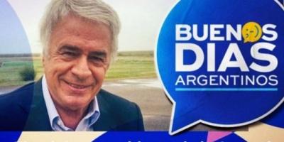 En campaña, De la Sota estrenó su propio programa de televisión