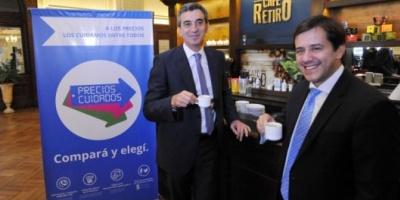"""Randazzo y Recalde presentaron """"precios cuidados"""" en estaciones de tren y colectivo"""