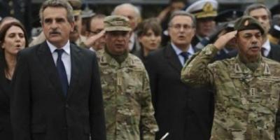 Rossi puso en funciones al nuevo titular del Ejército, Ricardo Cundom