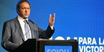 """En Florencio Varela, Scioli convocó a """"trabajar juntos por la grandeza del país"""""""