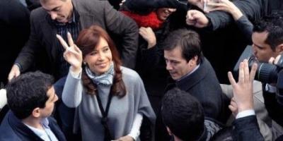 La Presidenta visitó la Villa 20 junto a Recalde