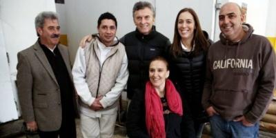 """Junto a Michetti y Vidal, Macri llamó a no votar """"desde la resignación"""""""