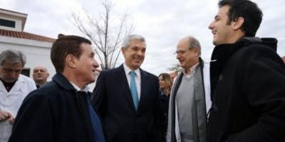Salud pública, eje de la campaña de Domínguez en la Provincia