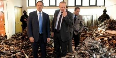 """Scioli: """"Gobierno un territorio 1.500 veces más grande que la Ciudad"""""""