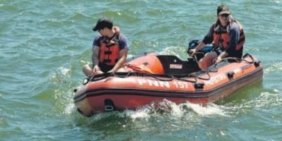 Sin éxito, terminó otra jornada de búsqueda del joven desaparecido en el Río de la Plata