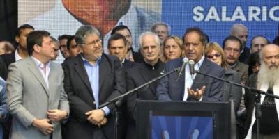 Scioli creará el Ministerio de Economía Popular si es elegido presidente